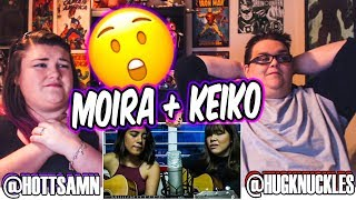 GAVE US CHILLS! MOIRA DELA TORRE AND KEIKO NECESSARIO - FIX YOU REACTION!! 🔥
