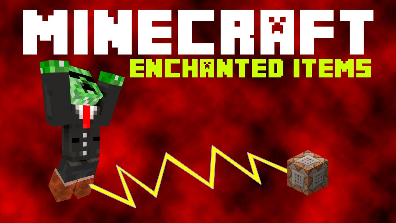 how to add enchants to an item using commands