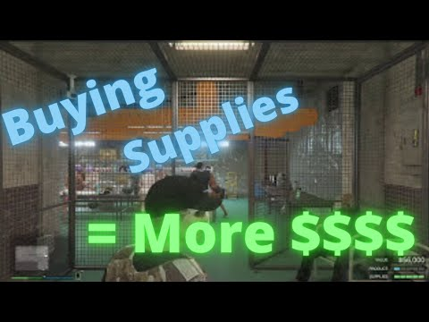 GTA V Online: Buying Supplies Is More Profitable???HOW???