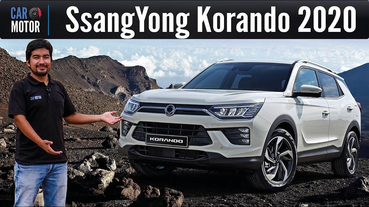 Nueva Ssangyong Korando 2020 Mejora Notable Youtube