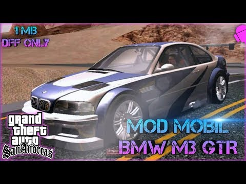 dff only] MOD MOBIL BMW GTA SA ANDROID | MOD MOBIL MOST WANTED GTA