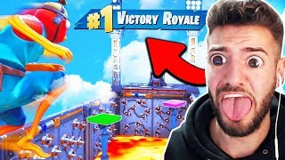 * NOOB * NO SKIN DEATHRUN in Fortnite vs Russik!