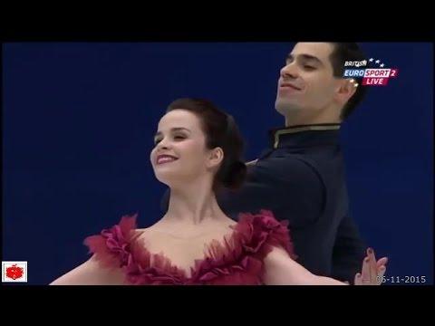 Cup of China 2015 - Anna CAPPELLINI e Luca LANOTTE 1° Posto nel short dance