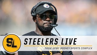 Tomlin Press Conference, Injury Update on Steelers Live | Pittsburgh Steelers