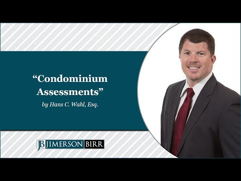 Condominium Assessments