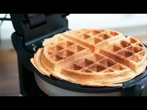 [더스쿱] #152. 노오븐디저트 / 집에서 만드는 분식 와플 ! (준비물..와플기) : How to make Classic Waffles : 经典的华夫饼 : 古典的なワッフル