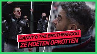 Brotherhoods verenigen zich bij anti-pedo demonstratie   DANNY & THE BROTHERHOOD #9   NPO 3 TV