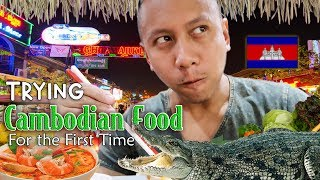 OMG! Authentic Cambodian Food for the First Time!   Vlog #15