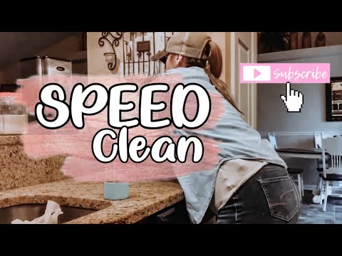SPEED CLEANING   SPEED CLEANING MY HOUSE   CLEAN WITH ME   REAL MESS CLEAN UP  CLEANING MOTIVATION