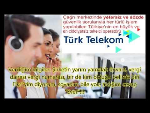 Çağrı merkezinde müşteri güvenliğini hiçe sayan en ciddiyetsiz operatör Tekelci Telekom
