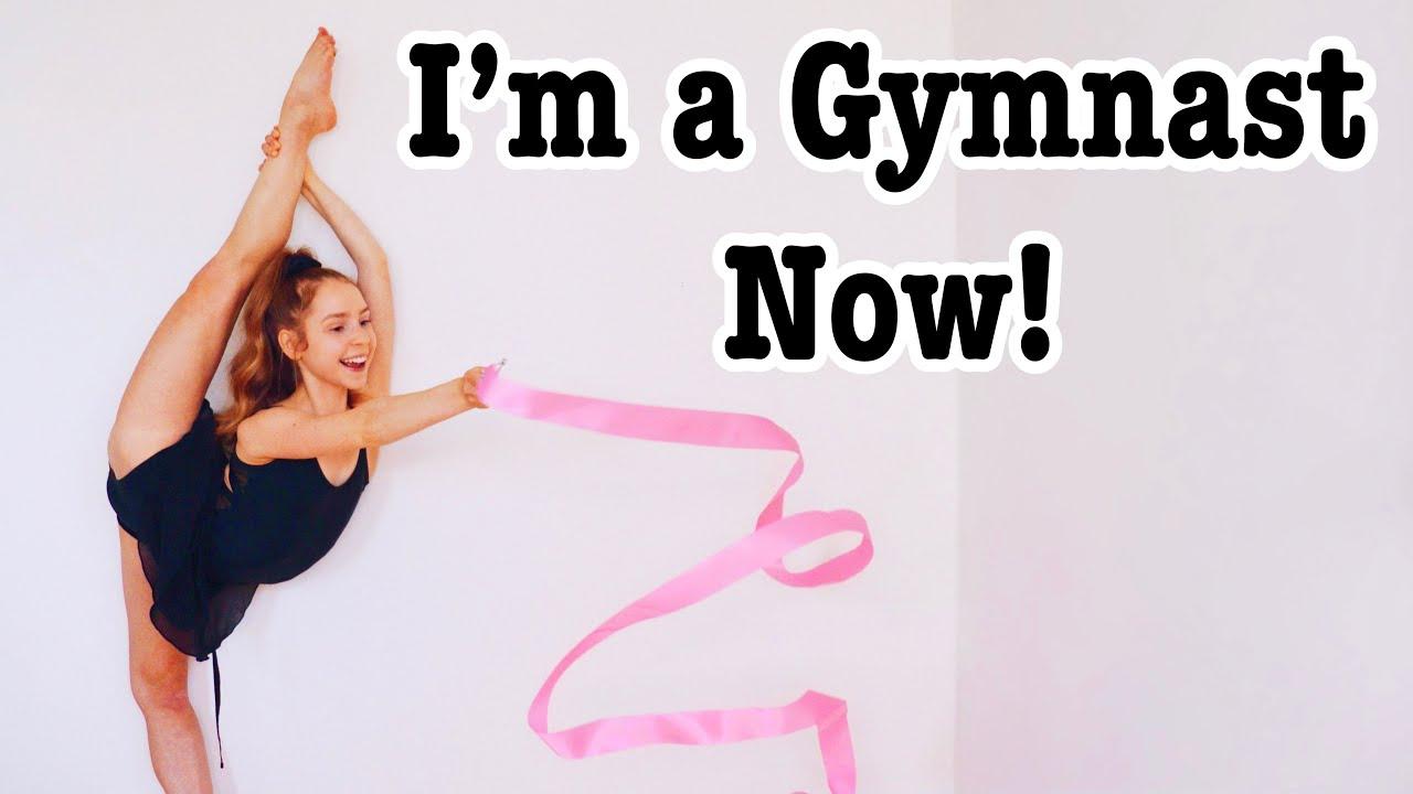 Download Cheerleader Attempts Rhythmic Gymnastics! ft. Elena Shinohara