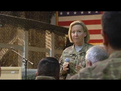 Chief of Navy Reserve Visits Afghanistan