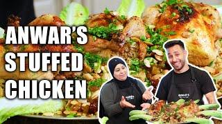 Best Stuffed Chicken Recipe   Anwar's Kitchen