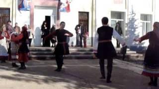 Марийский танец в исполнении