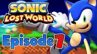 Sonic Lost World (Wii U) - Gameplay Walkthrough Part 1 - Windy hill & Zazz [1080p HD]