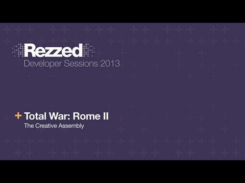 Total War: Rome II Live Code Demo - Rezzed 2013 Developer Sessions