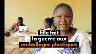 Burkina Faso : Elle fait la guerre aux emballages plastiques
