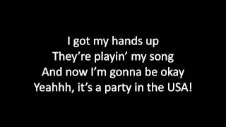Timeflies - Party in the USA Lyrics