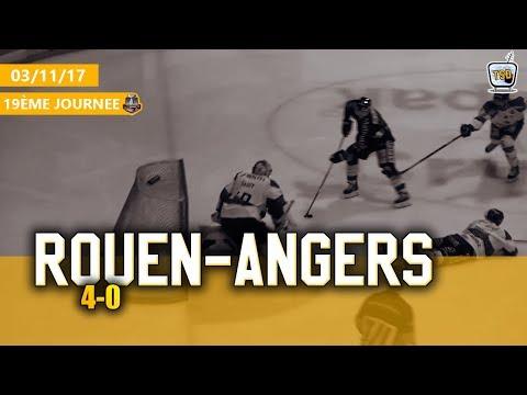 Hockey : Rouen - Angers Ligue Magnus 2017/2018 Jour 19