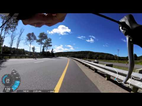 2014 Ironman Mont Tremblant 70.3 World Championship Bike Course