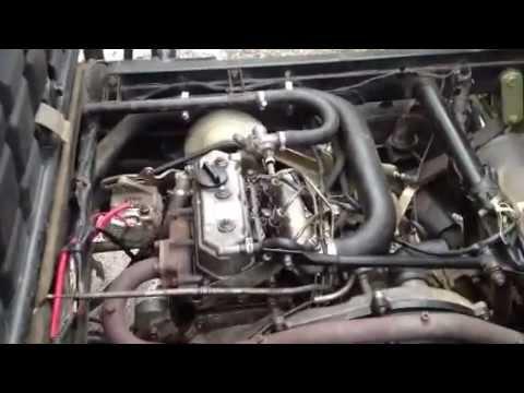 kawasaki mule diesel test run - youtube