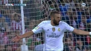 Real Madrid 2 x 1 Athletic Bilbao (Melhores momentos) Liga BBVA 2015-2016