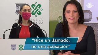Después de los señalamientos hechos por la jefa de gobierno de la Ciudad de México, Claudia Sheinbaum, a Beatriz Gasca, sobre el financiamiento de la toma de la CNDH, la mandataria sostuvo que no fueron acusaciones