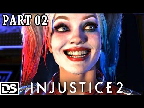 Injustice 2 Gameplay German PS4 - Harley Quinn & Joker - Let's Play Injustice 2 Deutsch #2