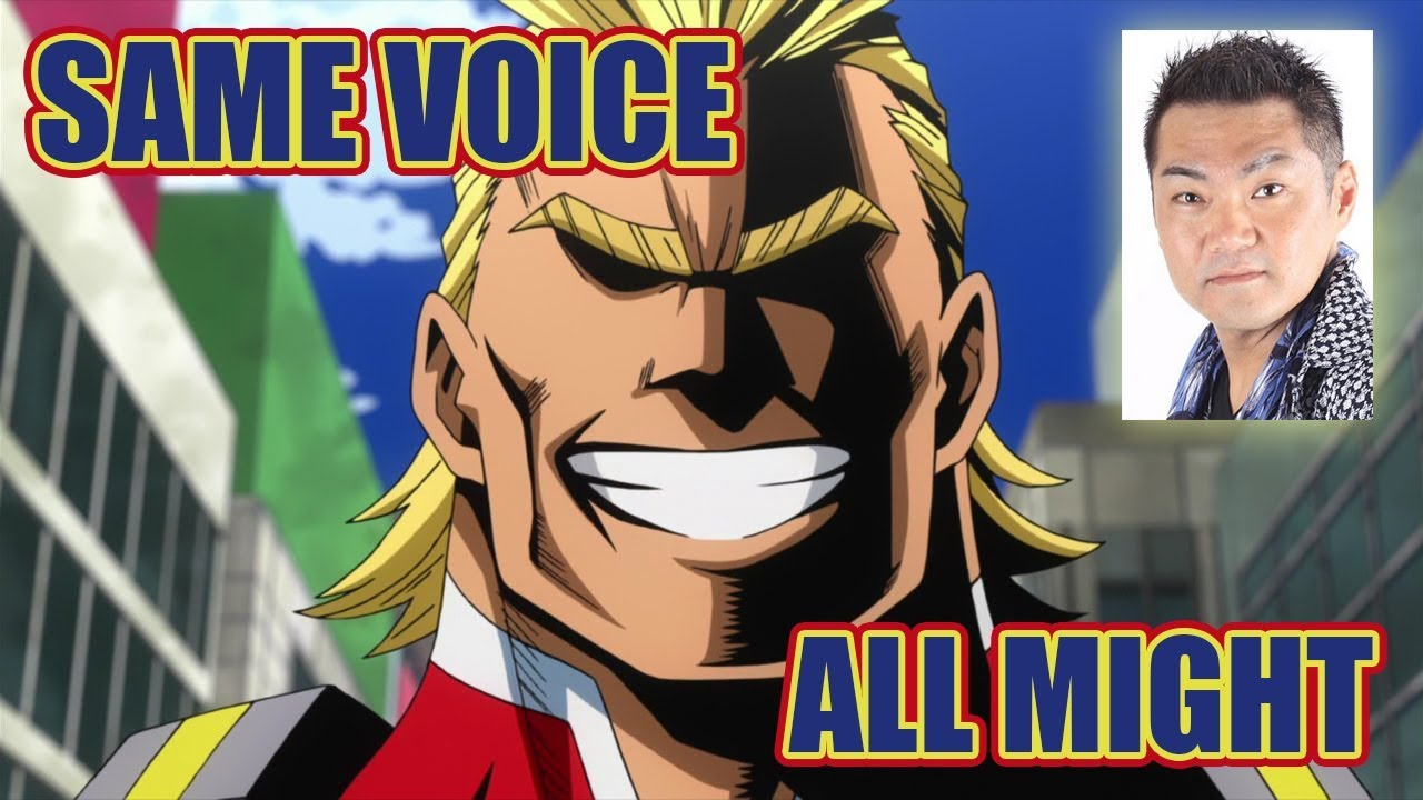 Same Anime Characters Voice Actor With One Piece S Vinsmoke Sanji Youtube