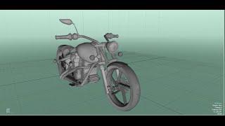 Chopper Bike modelling in blender 2.73 & 2.74(Part 2)