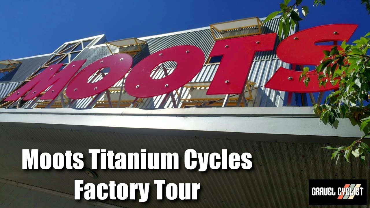 Moots Titanium Cycles Factory Tour - How They Make Their Bikes!