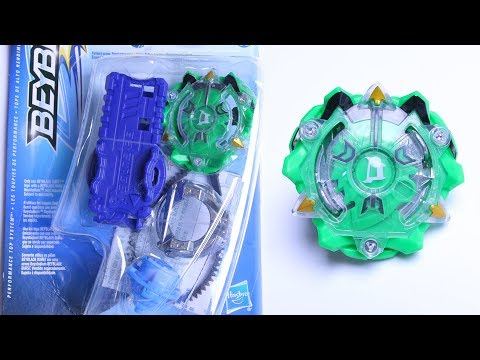 NEW HASBRO DIOMEDES D2 UNBOXING AND TESTING | Beyblade Burst Evolution