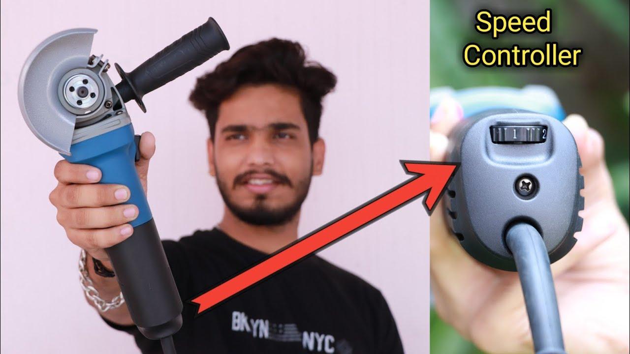 variable speed angle grinder unboxing  || ऐसा angle grinder अपने पहले नही देखा होगा || Mr. Dharoniya