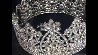 Корона для свадебной прически