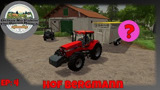 🚜 FS19 - Hof Bergmann - Day 1 Summer - EP 4 - A Special Guess Is Moving In! -  🐷