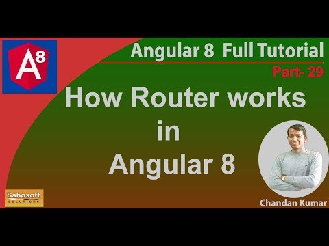 How Angular Router Works in Angular 8 |  Angular 8 Tutorial in Hindi thumbnail