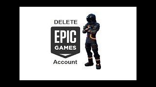 UPDATED* How To Delete Your Epic Games/Fortnite Account Permanently | The Exact Method