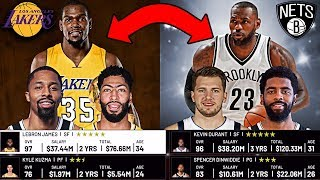 I Tried To Make One Random Trade For Every NBA Team (And You Won't Believe What Happened)