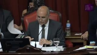 Sesión de la Cámara de Senadores de la provincia de Buenos Aires.(4/12/2018 )