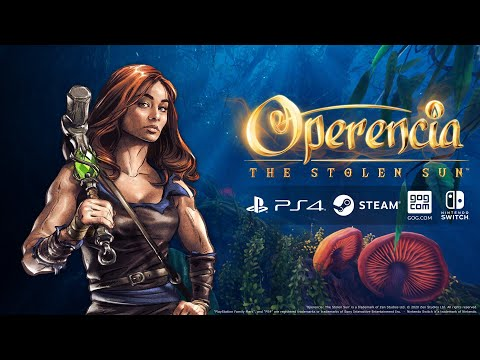 Operencia: The Stolen Sun Arrives on PS4, Nintendo Switch, Steam and GOG.com March 31!