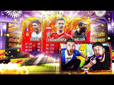 FIFA 20: Headliner Pack Opening + Weekend League bis der Schweiß läuft !!