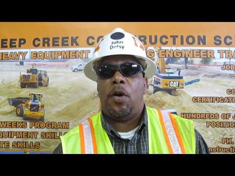Heavy Equipment Operator Video Resume Of John Dotsy