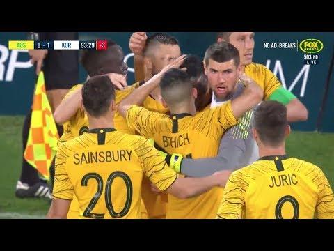 Full-time Highlights: Caltex Socceroos V Korea Republic
