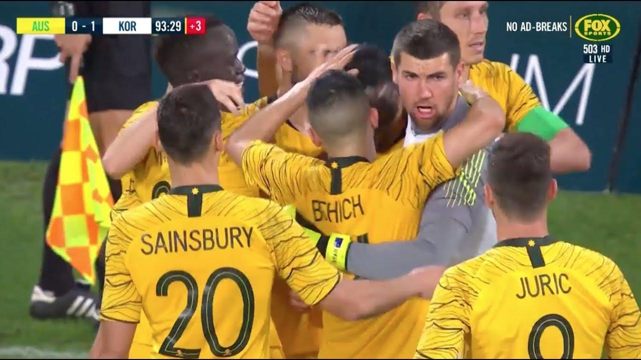 345d97f9e Full-time highlights  Caltex Socceroos v Korea Republic - YouTube