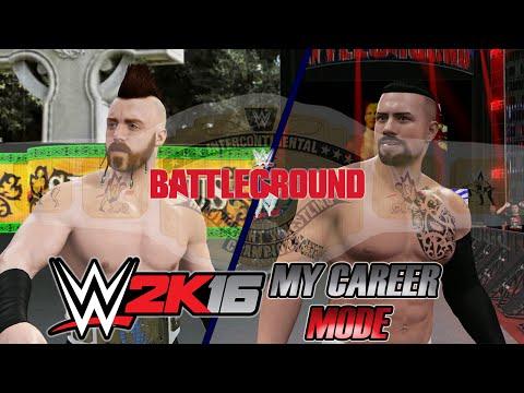 WWE 2K16 - My Career - #68 - Battleground PPV: Intercontinental Championship