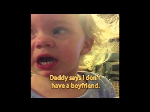 Little Girl Is Pretty Darn Sure She Has a Boyfriend