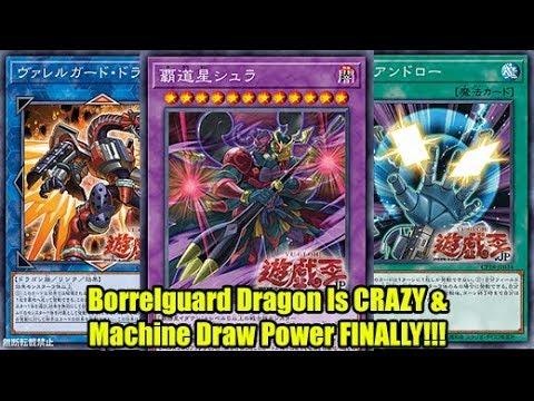 Borrelguard Dragon Is Crazy & Machine Draw Power FINALLY