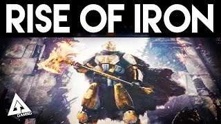 Destiny RISE OF IRON DLC & NEW RAID