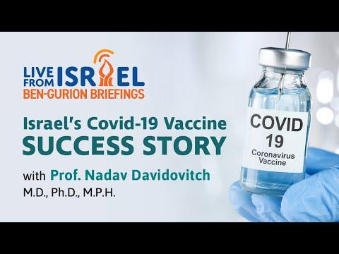 Israel's COVID-19 Success Story