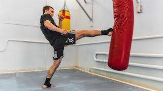 Самый эффективный удар ногой в MMA